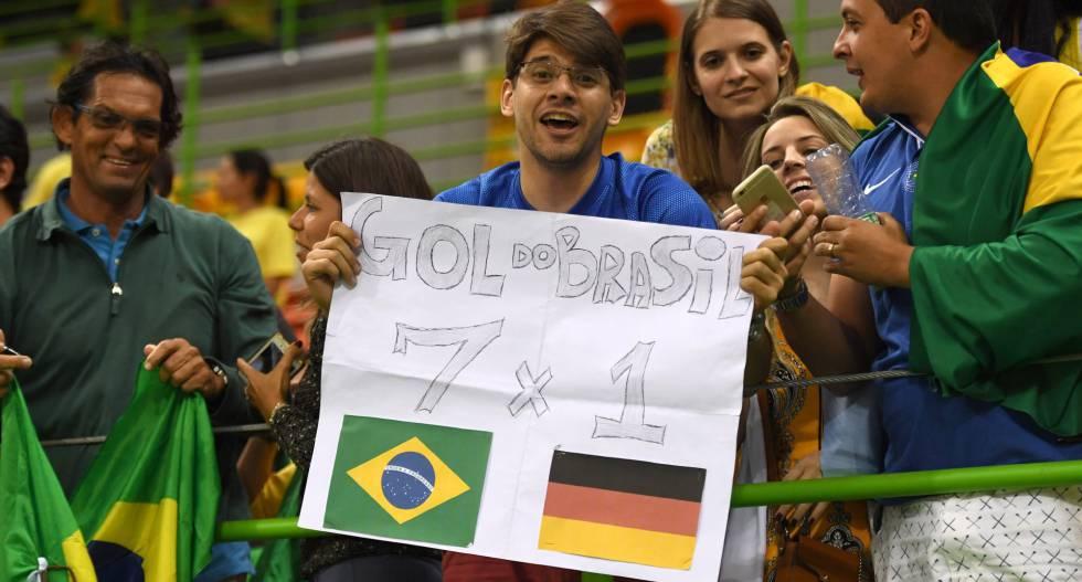 Brasil x Alemanha Olimpiadas vingança 7 a 1 9d8ce385f7ef1