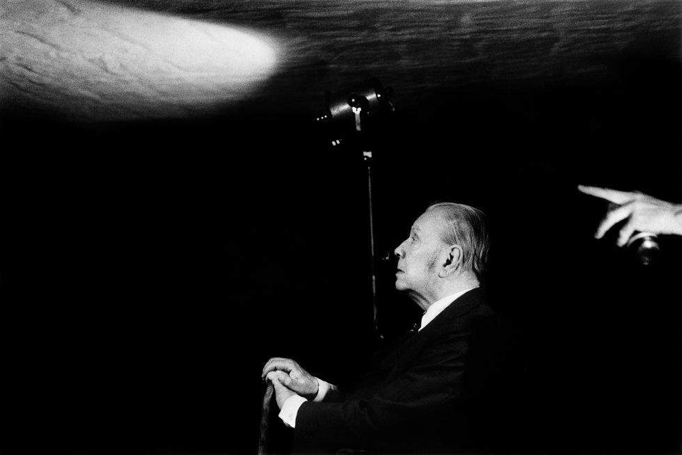 O contista argentino Jorge Luis Borges.