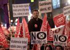 Miles de personas se concentran en Sol contra la reforma laboral