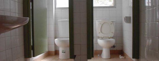 Baños Infantiles Para Colegios:Centenares de niños, en casa por la huelga de limpieza en colegios de