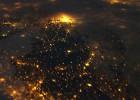 Tanta luz apaga el cielo de Madrid