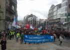 Miles de personas se manifiestan contra la reforma laboral y por un trabajo digno