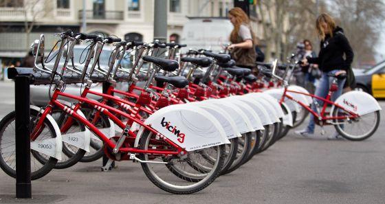 Bicing a precio de bicicleta propia catalu a el pa s for Oficina bicing barcelona