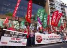 Alcaldes y concejales protestan contra la ley de reforma local