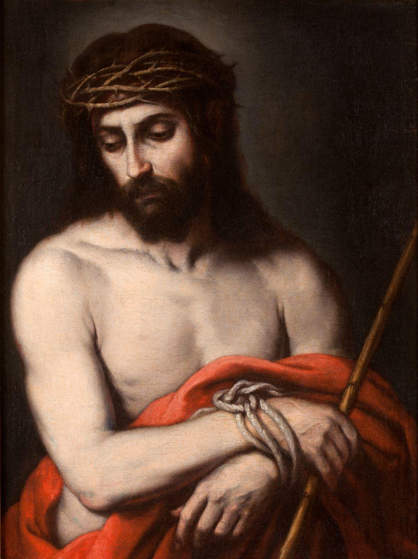 El Ecce homo atribuído a Murillo que puede verse en Guadix.