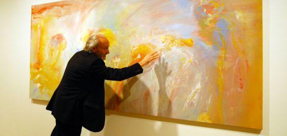 D ez alaba plasma en sus paisajes abstractos la calma de - Pintores en bilbao ...