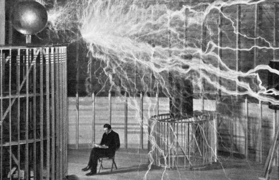 Nikola Tesla Rayos Y Centellas Madrid El Pa 205 S