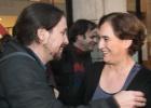 Pablo Iglesias y Ada Colau se alían para arrebatar Barcelona a CiU