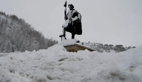 El tiempo capas de hasta un metro de nieve en zonas de la - El tiempo en parga lugo ...