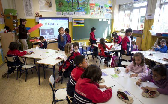 El gobierno permite bajar ya el n mero de alumnos por for Actividades para el salon de clases de primaria