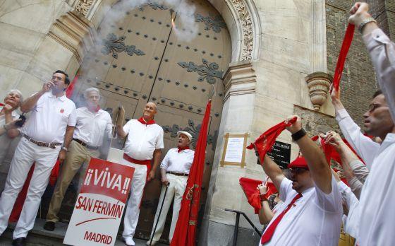 Chupinazo sanfermines san ferm n a la madrile a madrid for Pisos en san fermin madrid