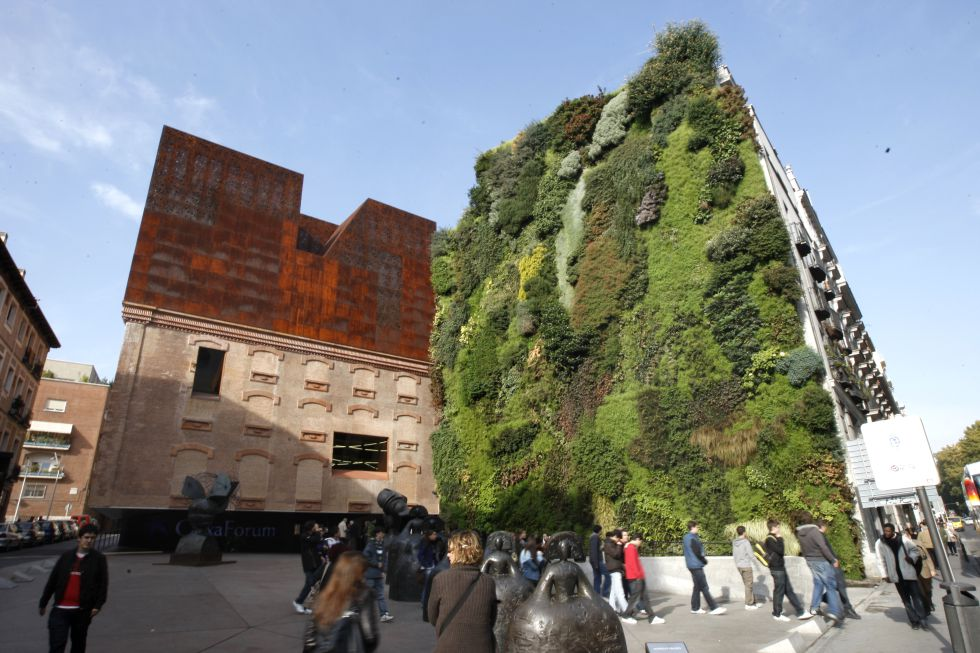 Jardines verticales a 200 euros el metro cuadrado madrid for Jardines verticales espana