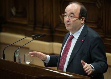 El PSC pide que el Parlament defienda la reforma federal y el diálogo con el Gobierno
