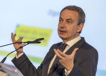 """Zapatero llama en Barcelona a """"deshacer los prejuicios"""" contra Susana Díaz"""