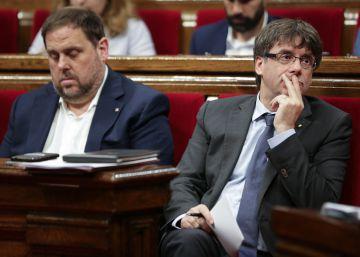 Puigdemont insiste en que encargó a Junqueras organizar el referéndum
