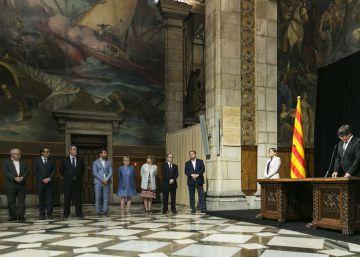 El Gobierno catalán fuerza la maquinaria del referéndum