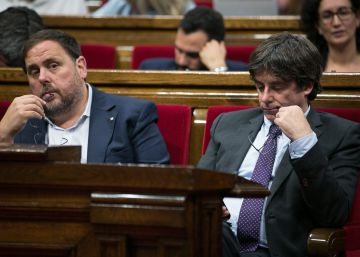 La justicia investigará a Puigdemont y Forcadell por delitos que acarrean cárcel