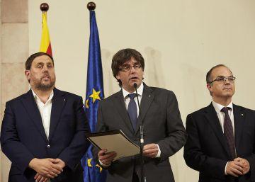 La Generalitat distingue entre los catalanes que ayudan a votar y los que lo impiden