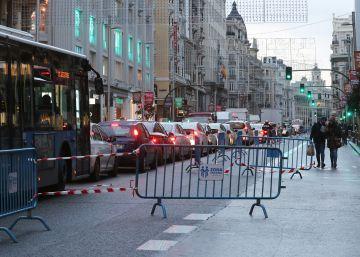 Gran Vía tendrá un único carril por sentido para el tráfico privado a partir del 1 de diciembre