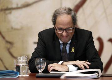 """El TSJC cree que Torra cometió un delito de odio al llamar """"bestias"""" a los españoles, pero lo ve prescrito"""