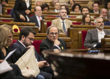 El Parlament condena el discurso del Rey y aprueba ahora abolir la monarquía