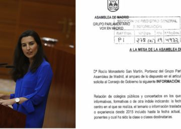 Vox pide a la Comunidad de Madrid que identifique a quienes dan charlas LGTBI en colegios