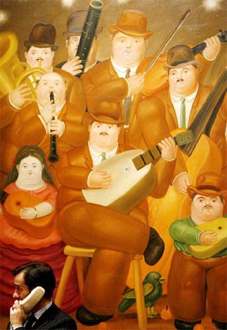 La Pintura Del Pintor Colombiano Fernando Botero Los