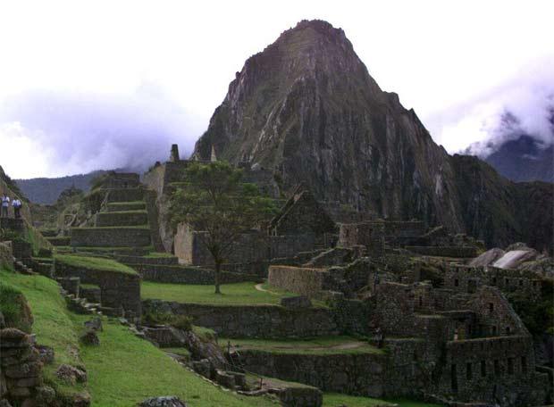El recinto arqueológico del Machu Pichu.