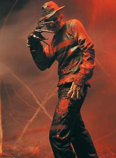 las pesadillas de freddy (freddys, nightmares: a nightmare on elm street, the series) 1988 Garras_jersey_rayas_media_cara_quemada_Freddy_krueger