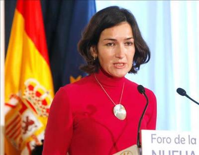 Ángeles González- Sinde (EFE/El Páis)