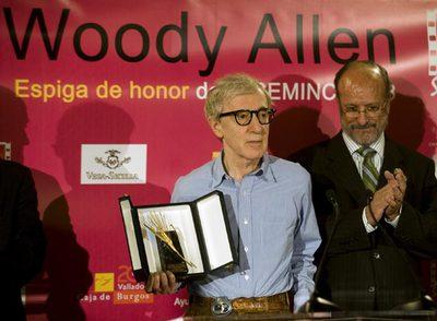 Woody Allen recibe la Espiga de Honor