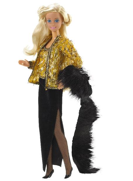 Oscar de la Renta también viste a Barbie