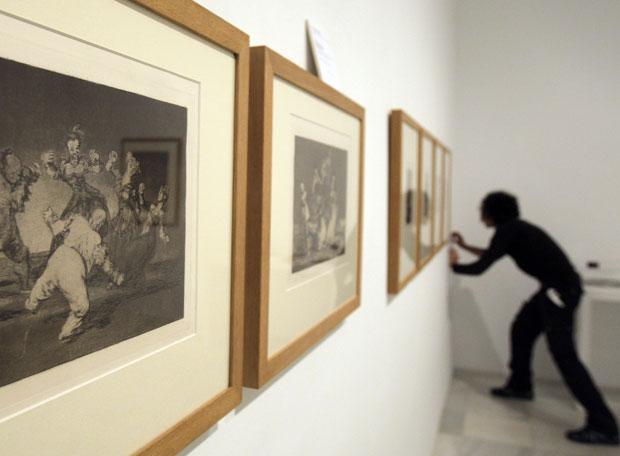 Goya y 'Guernica', estrellas del Reina Sofía  - Los nuevos grabados de Goya prestados al museo Reina Sofía