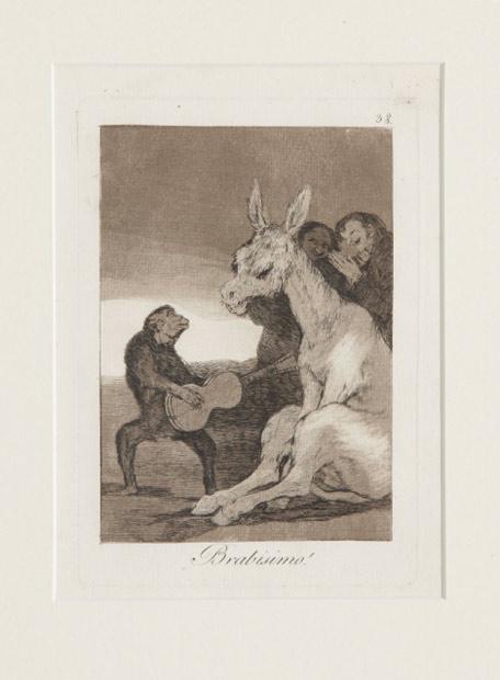 Goya y 'Guernica', estrellas del Reina Sofía  - 'Brabisimo!', de Francisco de Goya.