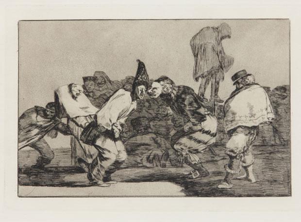 Goya y 'Guernica', estrellas del Reina Sofía  - Goya, 'Desastre de Carnaval', de la serie 'Desastres'.