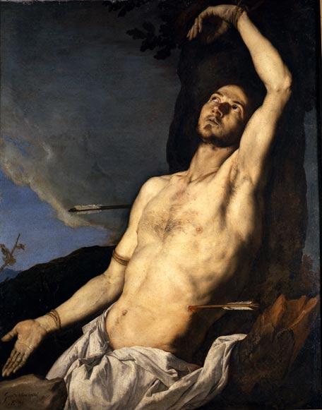 'San Sebastián' , José de Ribera, 1651