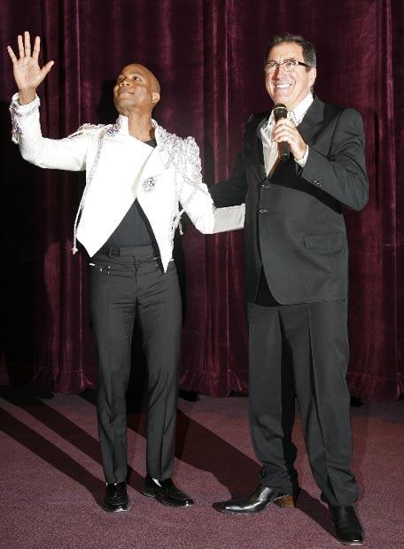 El coreógrafo y el director