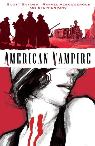 Scott Snyder, el vampiro protagonista de American Vampire