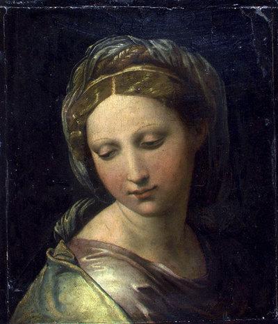 Retrato que los expertos de arte italiano atribuyen al pintor Rafael. EFE