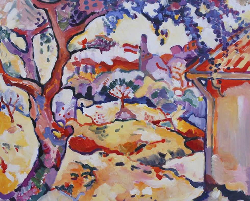'L'olivier près de l'Estaque' de Georges Braque