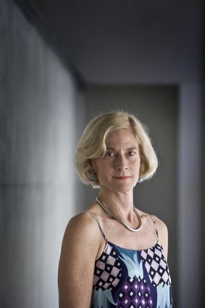 Martha Nussbaum, ayer, en el CCCB