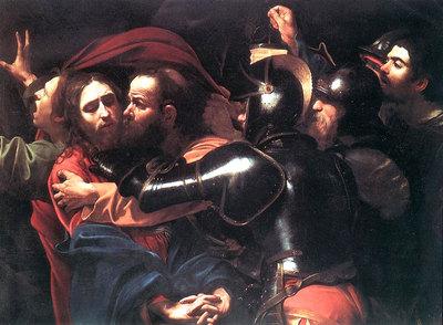 """""""El prendimiento de Cristo"""" de Caravaggio"""