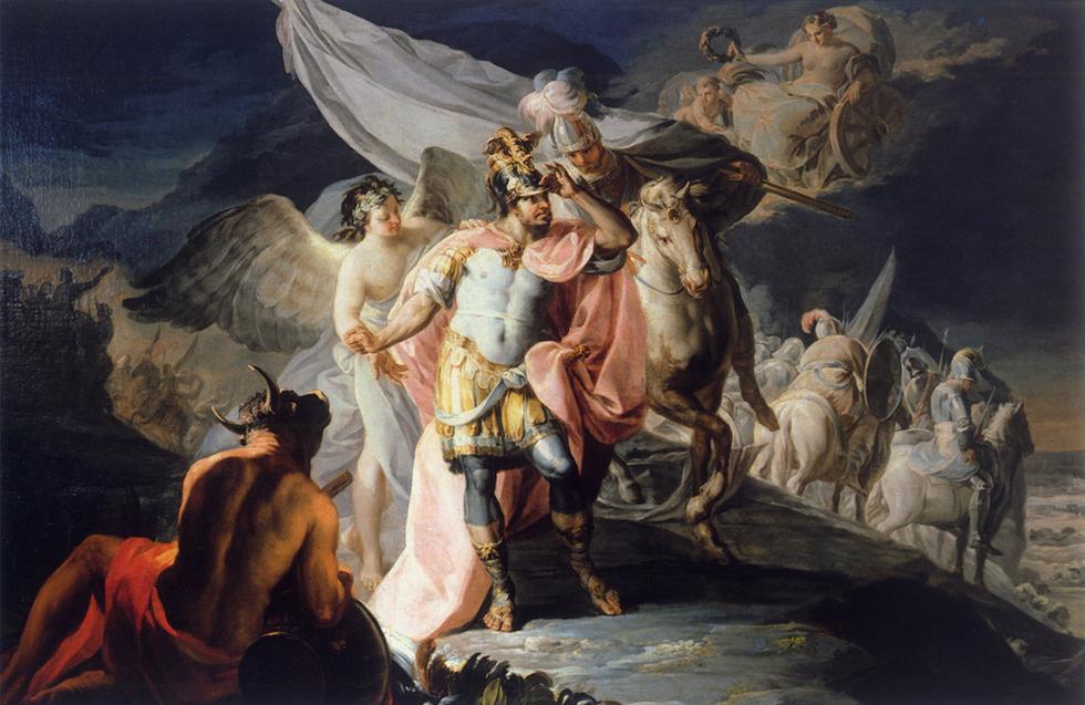 Este cuadro de Goya fue descubierto en la Fundación Selgás-Fagalde, en Cudillero, en 1994, tras haber estado expuesto con una atribución errónea, gracias al buen ojo de Jesús Urrea, entonces director adjunto del Museo del Prado.-