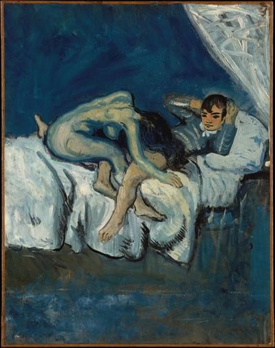 'Escena erótica', de Pablo Picasso, también conocida como 'La douleur'- Met