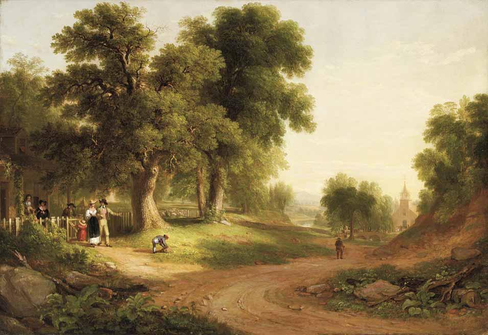 Domingo por la mañana de A.B. Durand (1839)