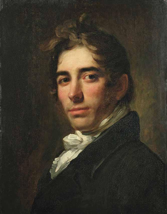 Retrato de Asher Brown Durand, de William Jewett (1819)