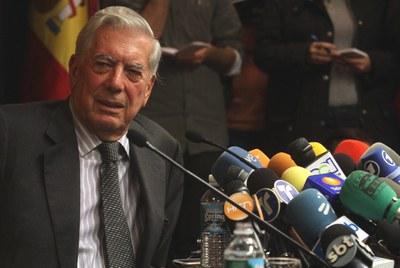 Vargas LLosa, Prémio Nobel