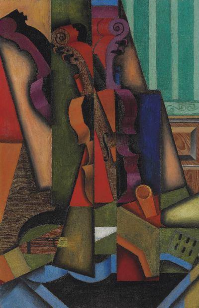 'Violín y guitarra', de Juan Gris