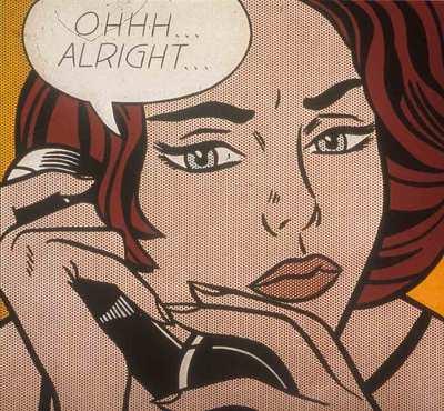 El cuadro del conocido artista estadounidense Roy Lichtenstein (1932- 1997), vendido por 27,5 millones de euros.-