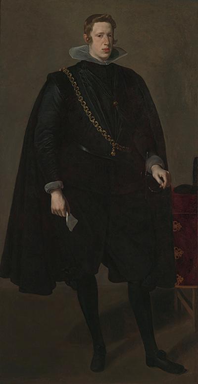 Retrato de Felipe IV, de Diego Velázquez (1624). Imagen de la página web del Metropolitan Museum of Arts-